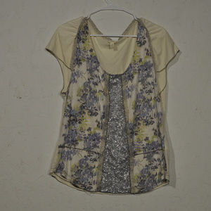 Anthropologie TINY | Sequence Blouse Shirt Large